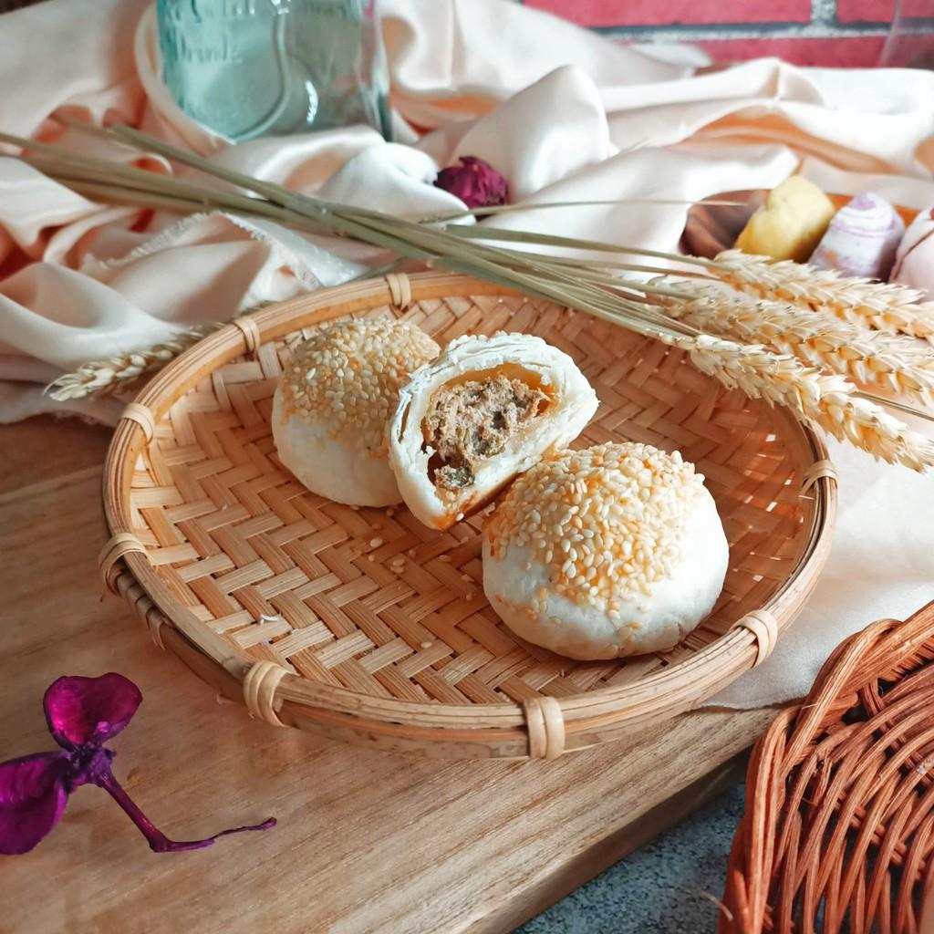 黃正宜低卡餐 蟹殼黃月餅單入/禮盒