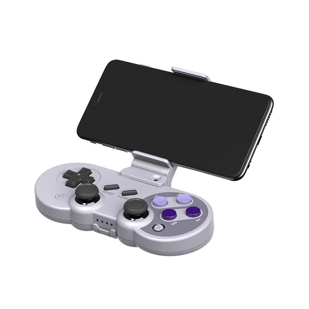 適用於8Bitdo Pro的Gamepad控制器安裝座手機支架