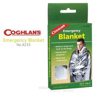 【Coghlans -加拿大】緊急防災救生毯.保暖毯.太空毯, 求生毯, 防風防寒睡袋.急用墊.急救毯_8235 臺中市
