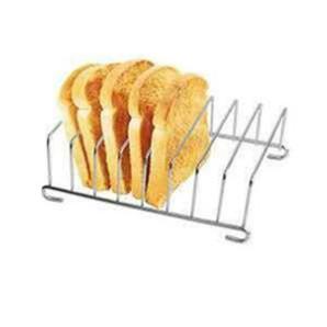麵包架 304不鏽鋼  7寸吐司架 適用於飛樂 品夏 科帥AF606/602氣炸鍋配件 薯餅架