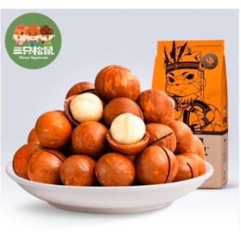 吃貨聯盟✨✨三只松鼠夏威夷果休闲 零食坚果奶油味160g