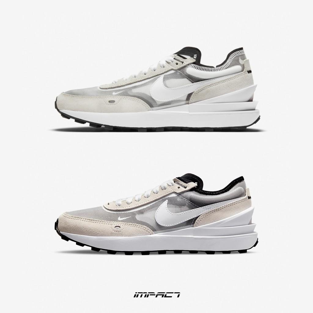 Nike Waffle One 灰白 小Sacai 解構 女鞋 DA7995-100 DC0481-100 IMPACT