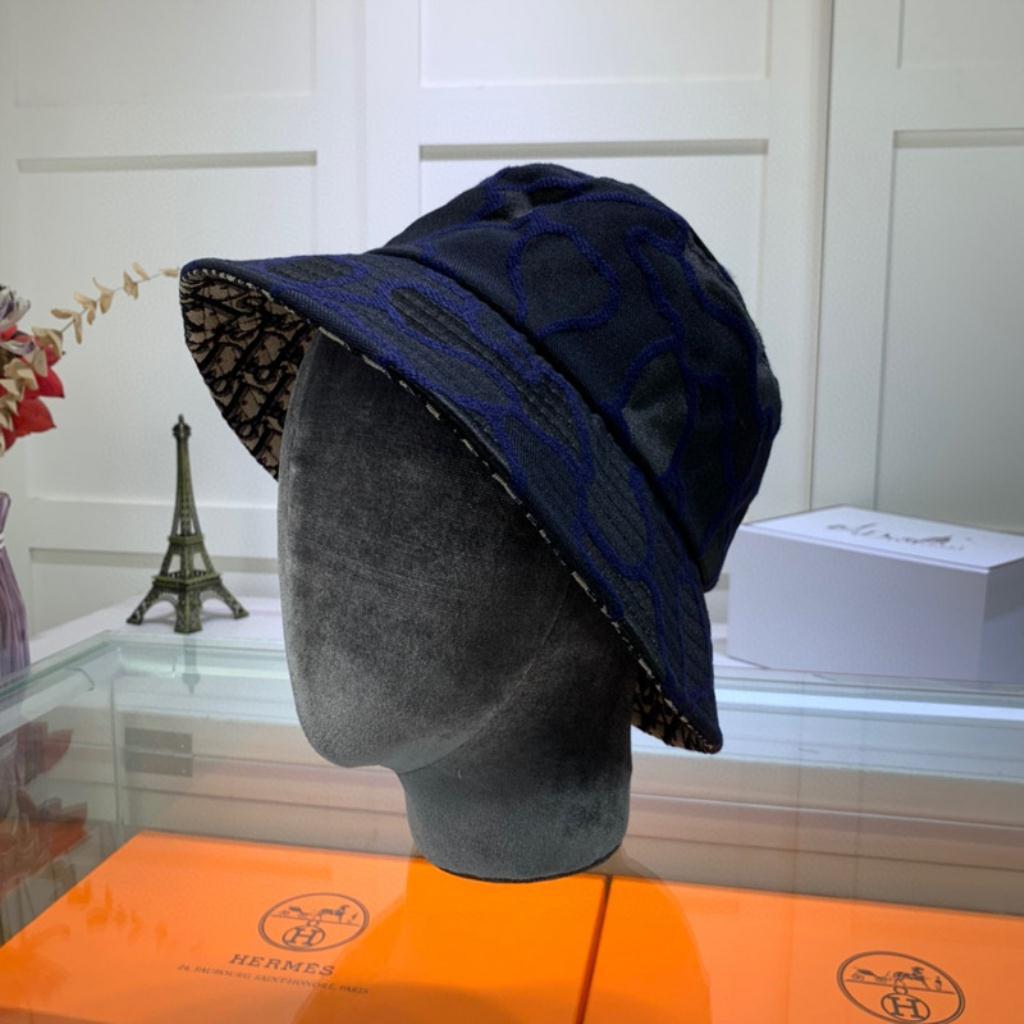 2020春夏迪奧漁夫帽 男女帽子 情侶帽子 防曬遮陽帽 潮人帽子 嘻哈帆布帽子 可折疊