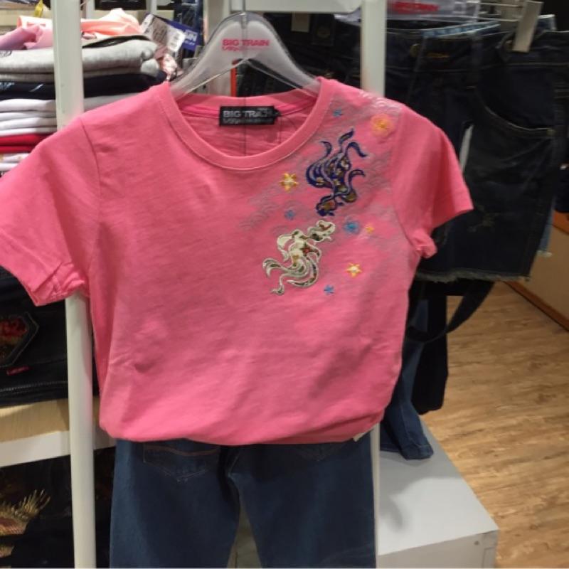 墨達人 BIG TRAIN 短袖 POLO衫 T恤 全新 現貨 2017春夏新款 刺繡T恤 尺寸齊全 女版