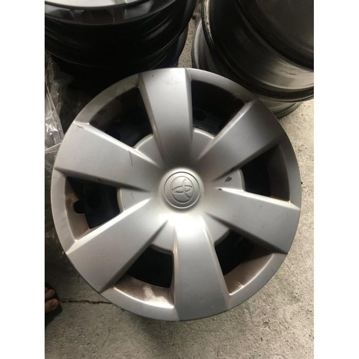 豐田 INNOVA原廠 5孔114.3 15吋鋼圈 鐵圈含輪胎 CAMRY 含外蓋 輪圈蓋 鐵圈蓋