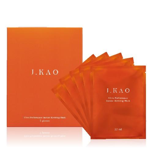 【J.KAO】 5分鐘逆時速酵傳導面膜 1盒5入