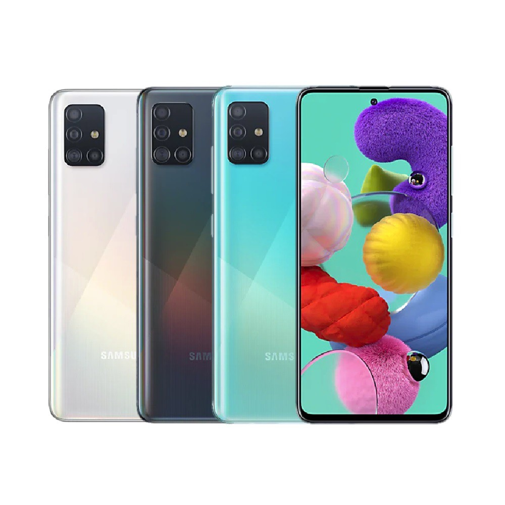Samsung Galaxy A51 6G/128G 雙卡八核四鏡頭智慧手機-公司貨保固一年【直接下殺】