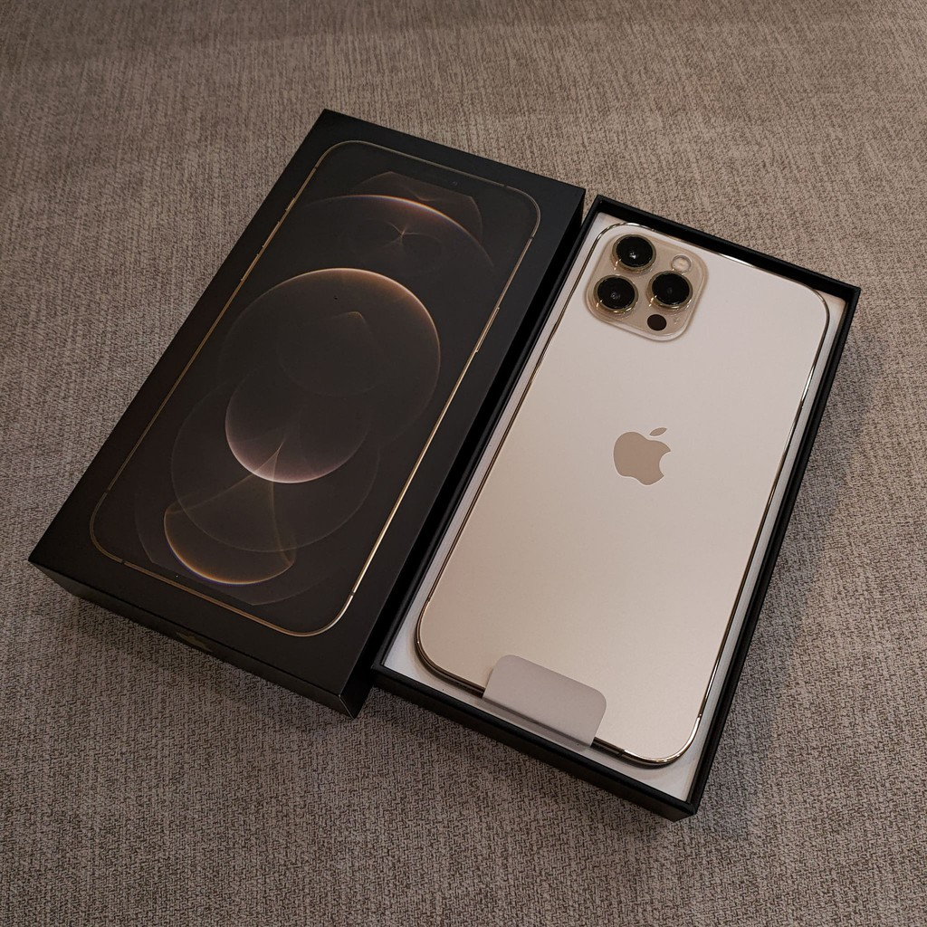 原廠保固中 超新 iPhone 12 Pro max 128g  金色 極新二手保固11個月 iphone12pm128