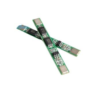單節雙MSO 3.7V保板護板 帶鐵片可點焊 適用18650聚合物鋰電池組 電子愛好者之家元器件配件模組模塊零件
