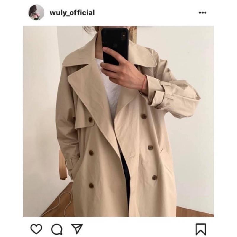 韓代wuly 風衣外套