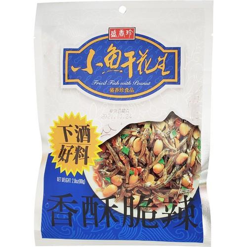 盛香珍 小魚干花生(80g/包)[大買家]