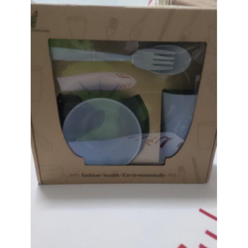 孩童專用塑膠餐具套組