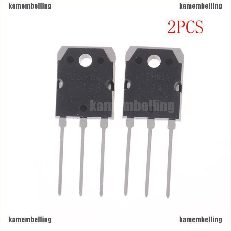 【KAM】1pair(2pcs)2SA1941&2SC5198東芝晶體管A1941&C5198