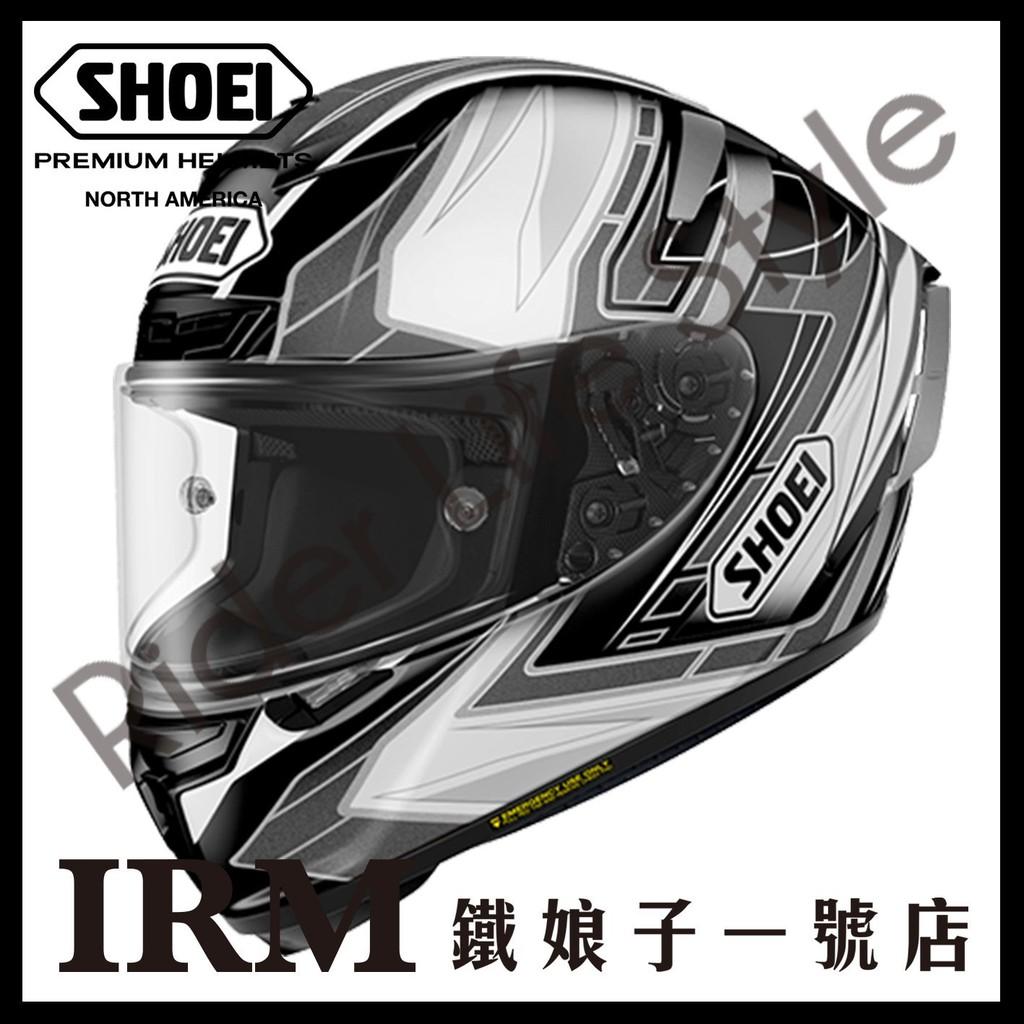 【鐵娘子一號店】代訂 日本 SHOEI X-14 內襯全可拆 頂級 X14 全罩 安全帽 ASAIL TC-5 白黑