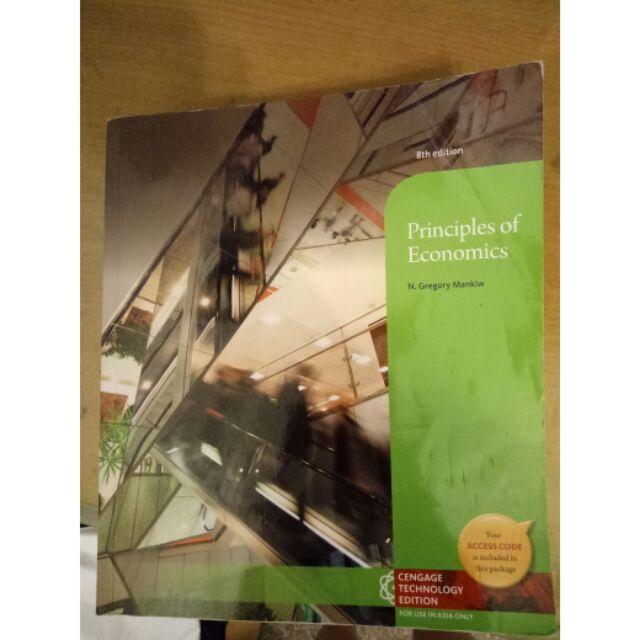 8th edition Principles of Economics