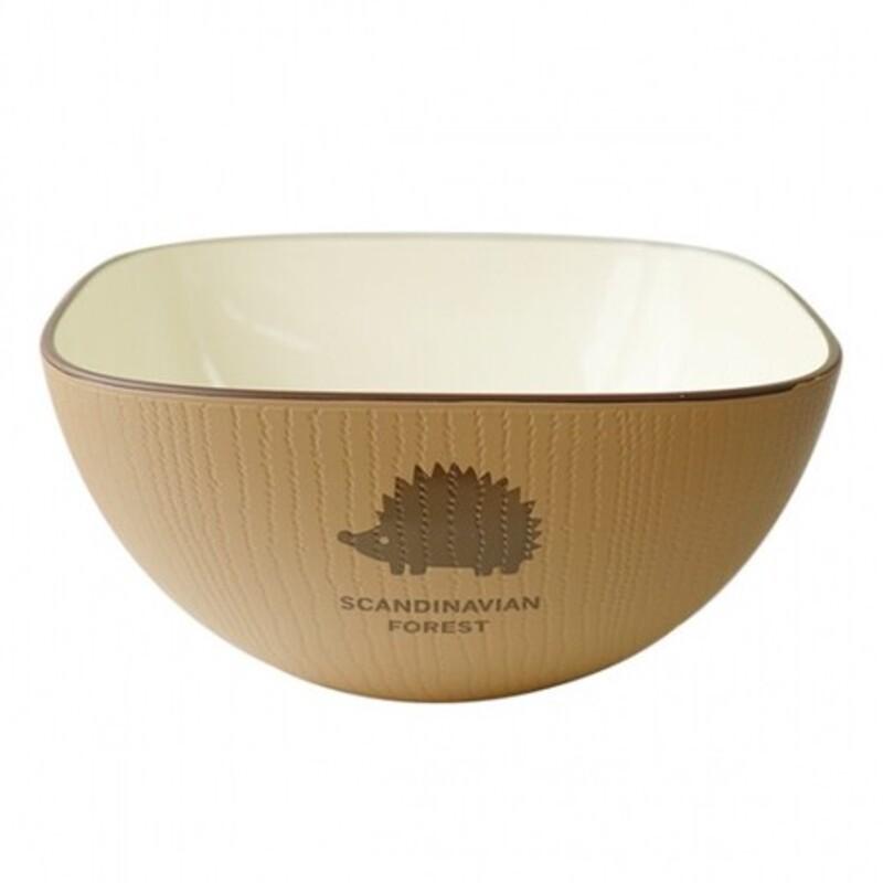 現貨 日本製 北歐 MOZ 刺蝟造型碗 造型碗 碗 碗盤 餐具 餐碗 森林餐碗 刺蝟 野餐 紅/藍/拿鐵色  -富士通販