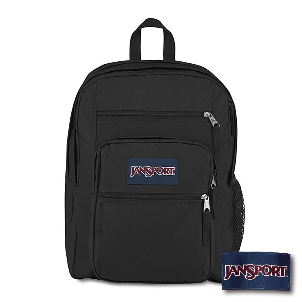 【JANSPORT】BIG STUDENT 系列後背包 -黑(JS-43559)