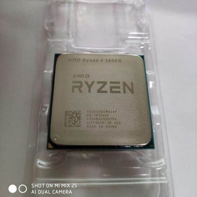 AMD Ryzen R5-2600X 六核心 中央處理器