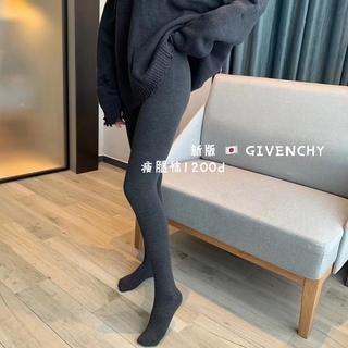 爆款新版紀家1200D梵希打底褲竪條螺紋連褲襪顯瘦百搭甜美打底襪