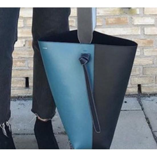 Celine Twisted Cabas拼色可調節 手提包 水桶包 肩背包 寬肩帶 手提 現貨