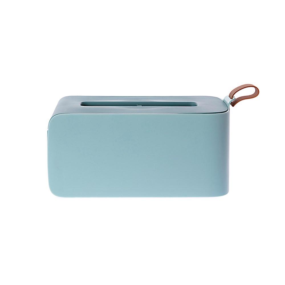 特力屋 艾菲簡約面紙盒-藍