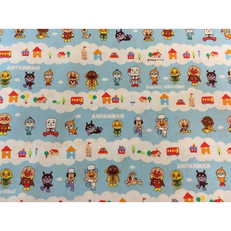 【傑美屋-縫紉之家】日本限量卡通布~麵包超人#G2130-15A純棉布