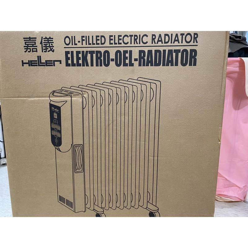 全新德國嘉儀KED512T 12葉片電暖器