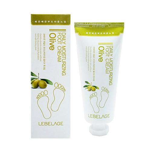 韓國 LEBELAGE 橄欖保濕護足霜(100ml)【小三美日】D113012