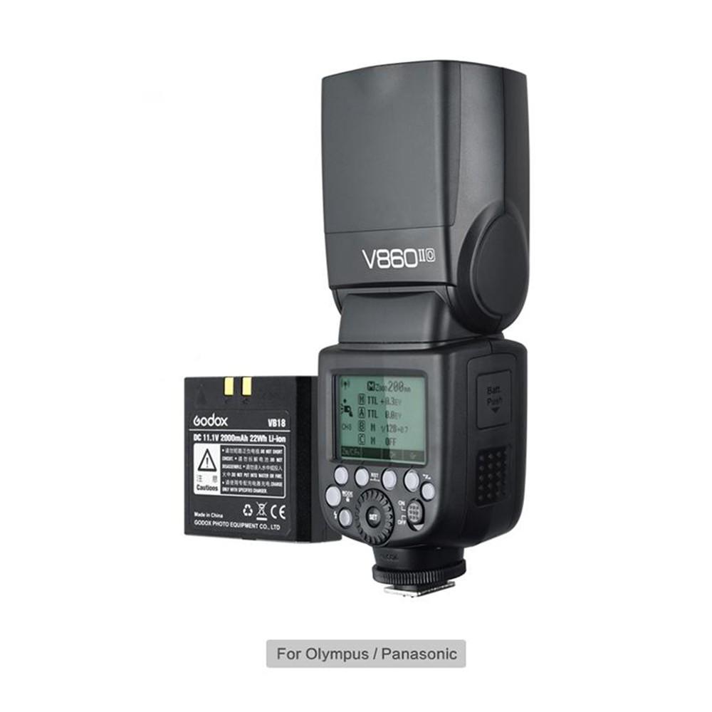 Godox 神牛 V860 O II KIT 新款 TTL二代鋰電池閃光燈 Olympus [相機專家] [開年公司貨]