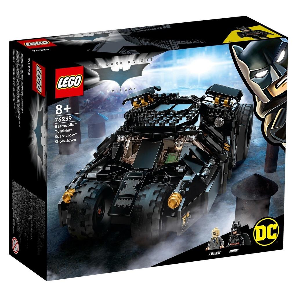 LEGO 76239 超級英雄系列 蝙蝠車:稻草人的最後決戰【必買站】樂高盒組