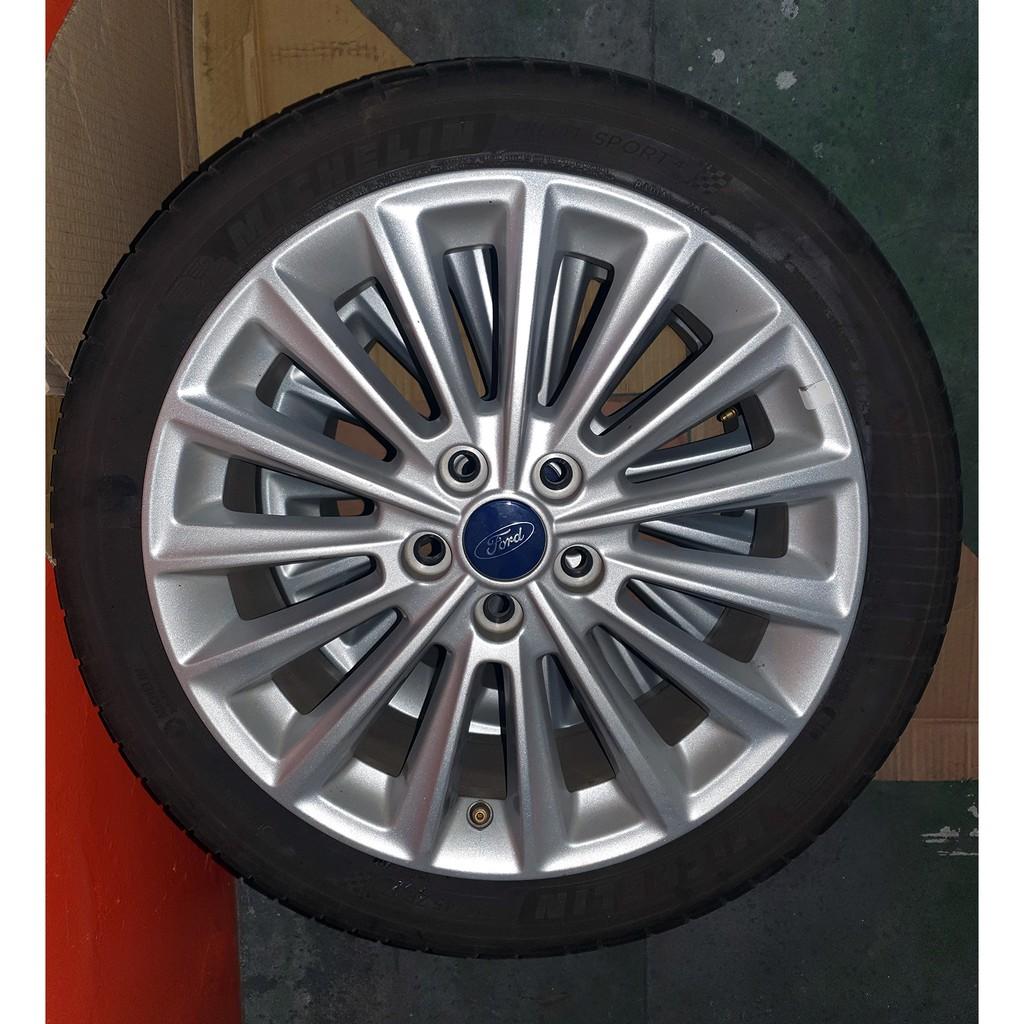 福特 Focus 3.5代頂級款17吋原廠輪框/輪胎