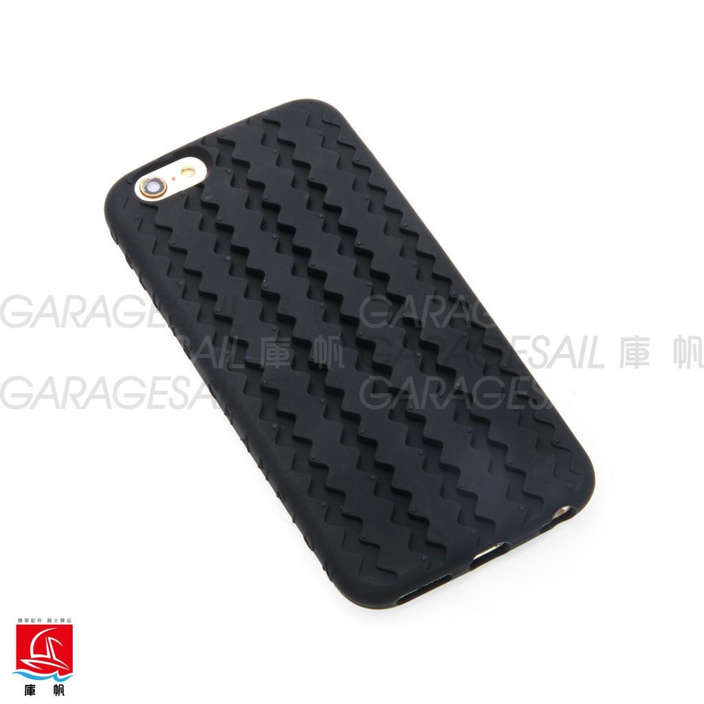 【庫帆】Firestone 鋸齒胎 IPhone 手機 橡膠 保護套 5 5S SE