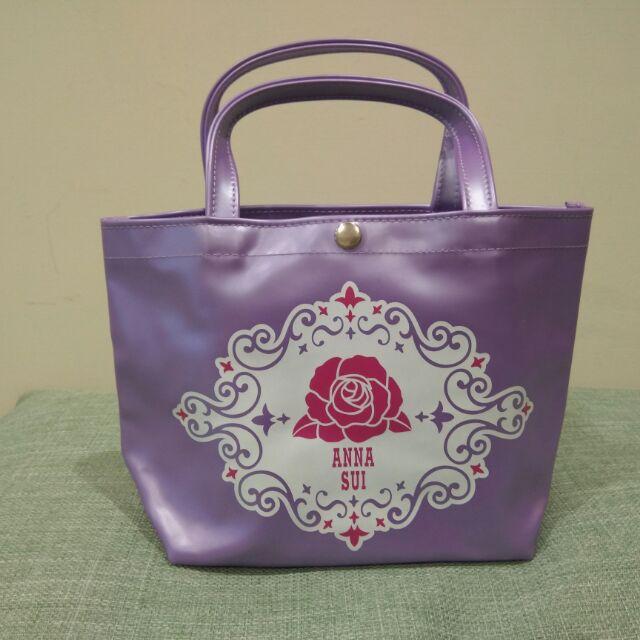 Anna Sui 安娜蘇 小提袋 手提包 水餃包 滿額贈品