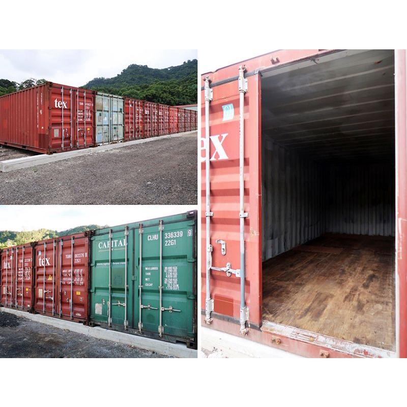 20呎 貨櫃倉庫出租 裝卸貨超方便 搬家裝潢 物流貨物