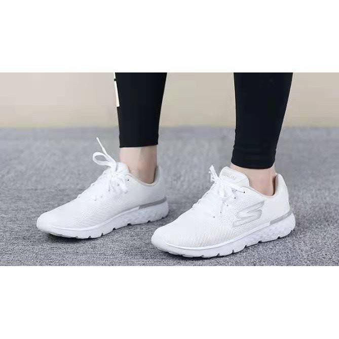 正品公司貨Skechers斯凱奇思克威爾系帶女鞋 輕質透氣健步慢跑運動鞋14804