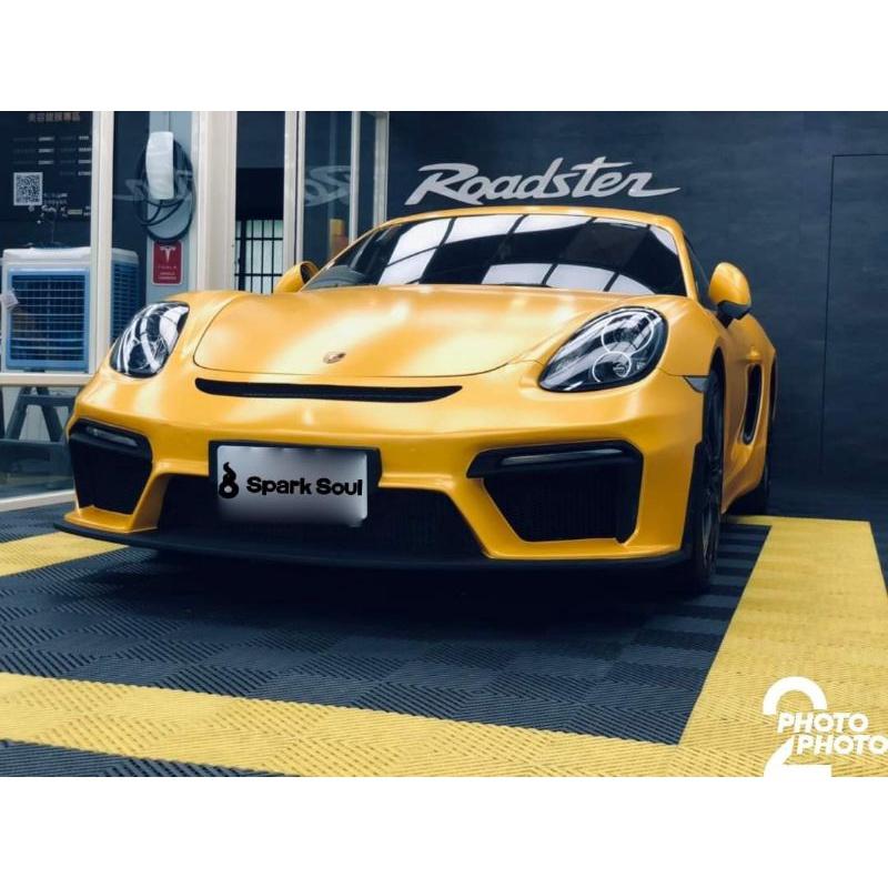 Porsche cayman 981轉718 gt4前保桿
