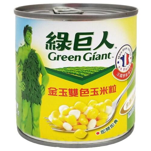 綠巨人金玉雙色玉米粒340g 【康鄰超市】