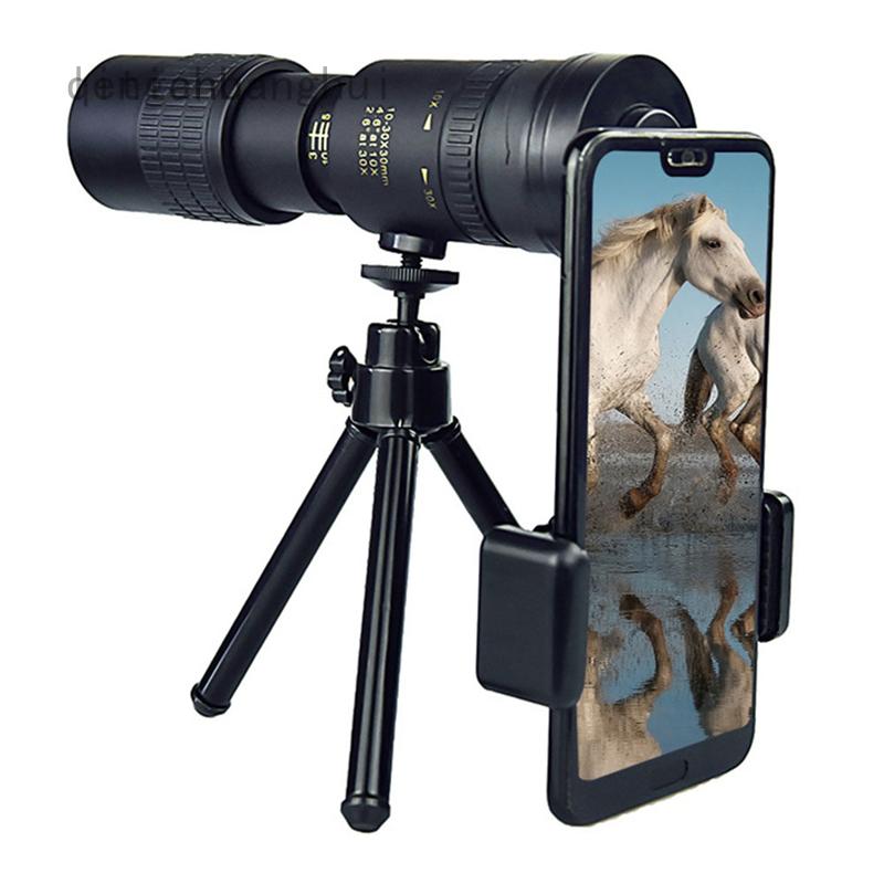 新型 4k 10-300x40mm 超級遠攝變焦單筒望遠鏡可擴展變焦單筒望遠鏡大功率高清變焦