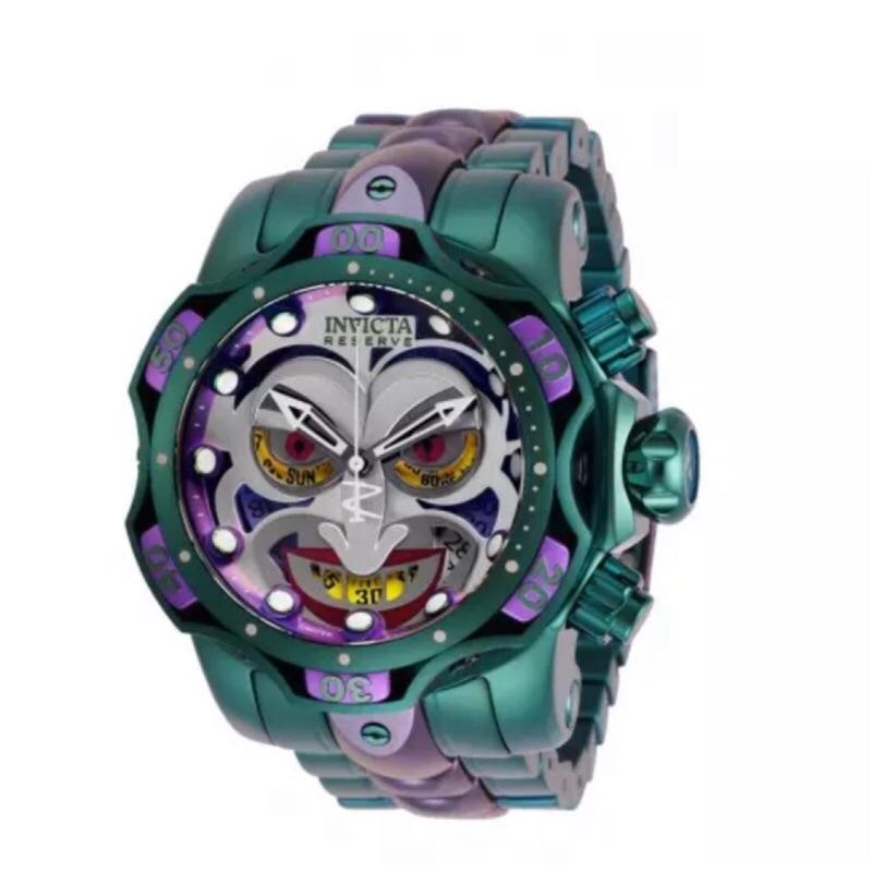 (免運商品)Invicta 英威塔原廠公司貨 全球限量4000支小丑 鋼帶DC Comics-Joker 搶低賣低價!