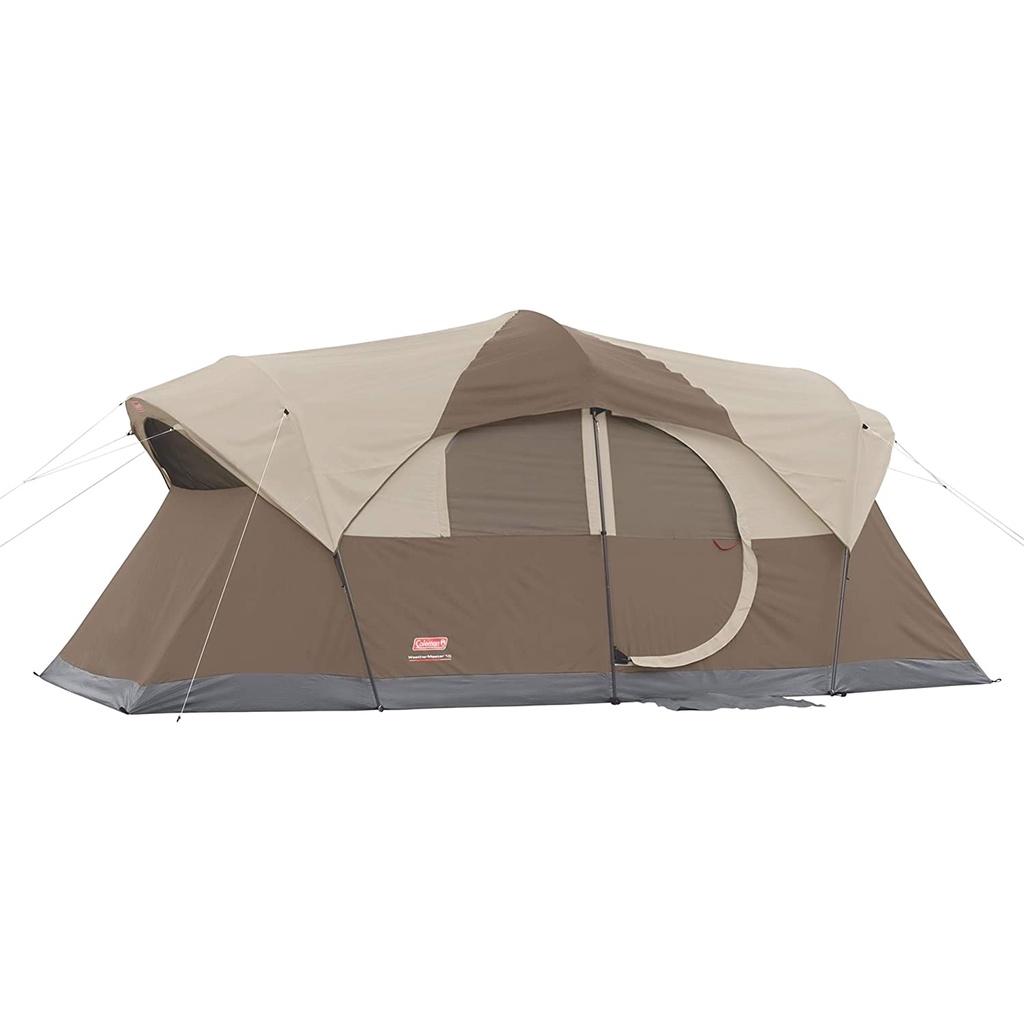 大量進貨【現貨有發票】美國 Coleman 露營帳篷 weathermaster氣候達人10人帳