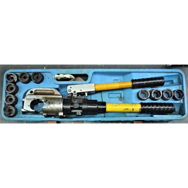 ~金光興修繕屋~出租 手動式端子壓著 油壓壓接鉗 端子壓接機 :C型模 非 Asada AE-438H