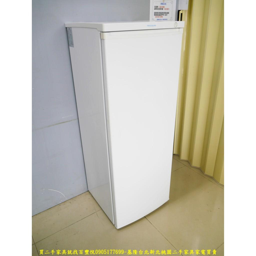 【二手家電】台北百豐悅中古家電- 二手冰箱二手冷凍櫃富及第185L直立式冰櫃2015年中古冰箱 三重二手家電新莊二手家電