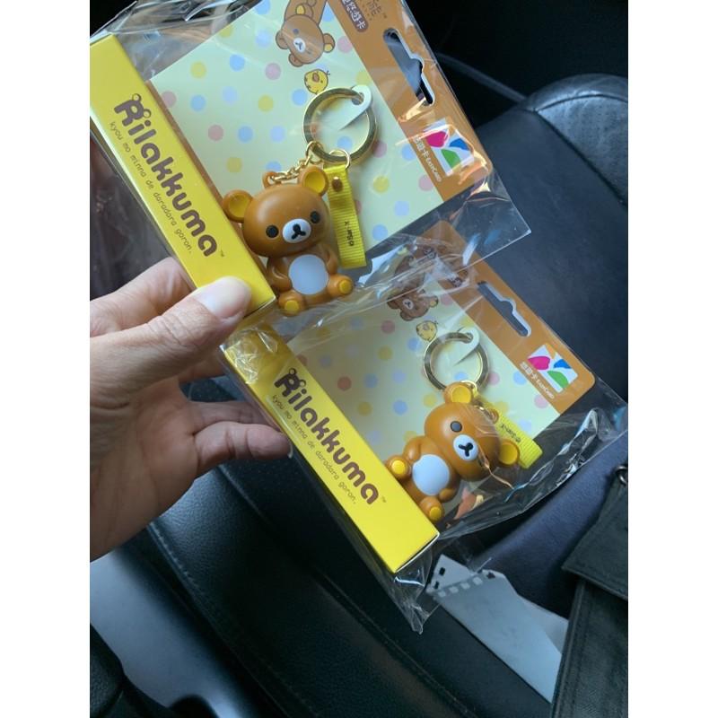 啵啵小舖 7-11《現貨》拉拉熊3D造型悠遊卡