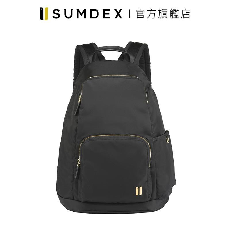 Sumdex 輕簡防盜後開後背包 NOA-764BK 黑色 官方旗艦店