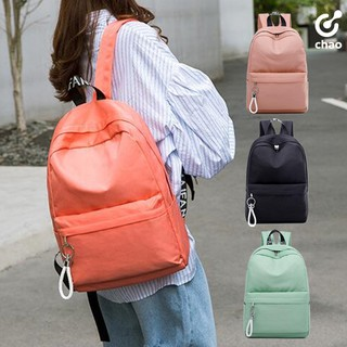牛津布休閒百搭素色後背包書包 Oxford cloth casual backpack /  4 colors 新北市