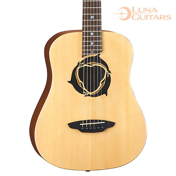 【全館折300】贈新琴點撥 美國 LUNA 海豚 36吋旅行小吉他