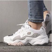 SKECHERS DLITE 3.0 白灰粉 12955WGPK 女生 休閒鞋 老爹鞋