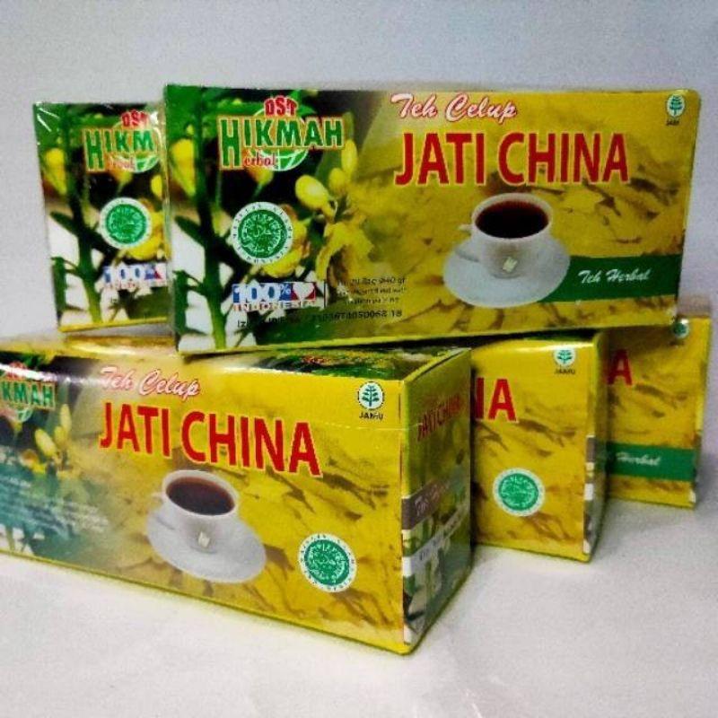 Teh Celup Herbal Jati Cina
