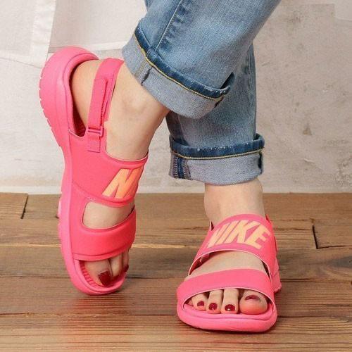 NIKE Wmns Tanjun Sandal 粉紅色 雙帶 涼鞋 女 (布魯克林運動流行館) 882694-600