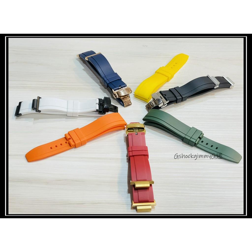 G迷 G-SHOCK GA2100 膠錶帶 橡膠錶帶 改裝 客製 農家橡樹 台灣在地發貨 GSHOCK